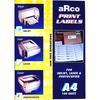 ARCO A4 PRINT LABELS