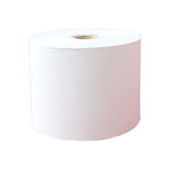 HIGH WHITE NCR PAPER ROLL 57MM X 65MM X 12MM 2 PLY