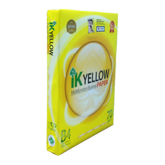 IK YELLOW B4 70GSM MULTIFUNCTION BUSINESS PAPER