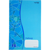 HARD COVER FOOLSCAP BOOK WITH NUMBERING F4 400 PAGES
