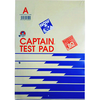 CAPTAIN RULED EXAMINATION PAD A4 (TOP OPEN)