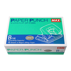 MAX PAPER PUNCH GREY B TYPE