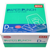 MAX PAPER PUNCH PINK D TYPE