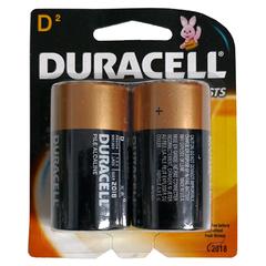 DURACELL D 2 PACK