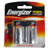 ENERGIZER MAX + POWERSEAL C 2 PACK