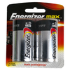 ENERGIZER MAX + POWERSEAL D 2 PACK