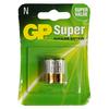 GP SUPER ALKALINE BATTERY 910A LR1 2 PACK