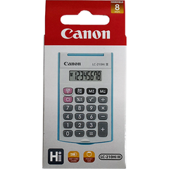 CANON CALCULATOR BLUE LC-210HI III