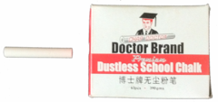 Doctor Brand White Dustless Chalk