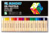 Buncho Oil Pastels 24 Colours