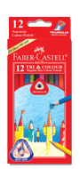 Faber Castell 12 Long Colour Pencil 115914