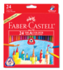 Faber Castell 24 Long Colour Pencil 115926