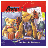 Astar 24 Long Colour Pencil CP102