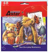Astar 48 Long Colour Pencil CP100