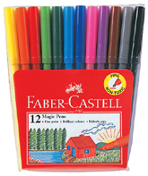 Faber Castell 12 Colour Pen 154312