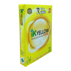 IK YELLOW A4 70GSM MULTIFUNCTION BUSINESS PAPER