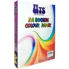 UTS A4 80GSM COLOUR PAPER (OTHER COLOURS)